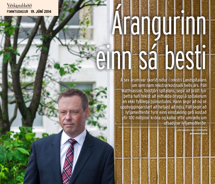 Viðskiptablaðið 19. júní 2014